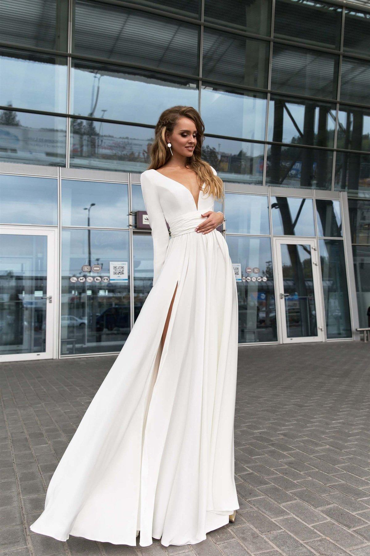 17a28eee044 Вечернее платье Selin White - купить коктейльные платья и вечерние ...