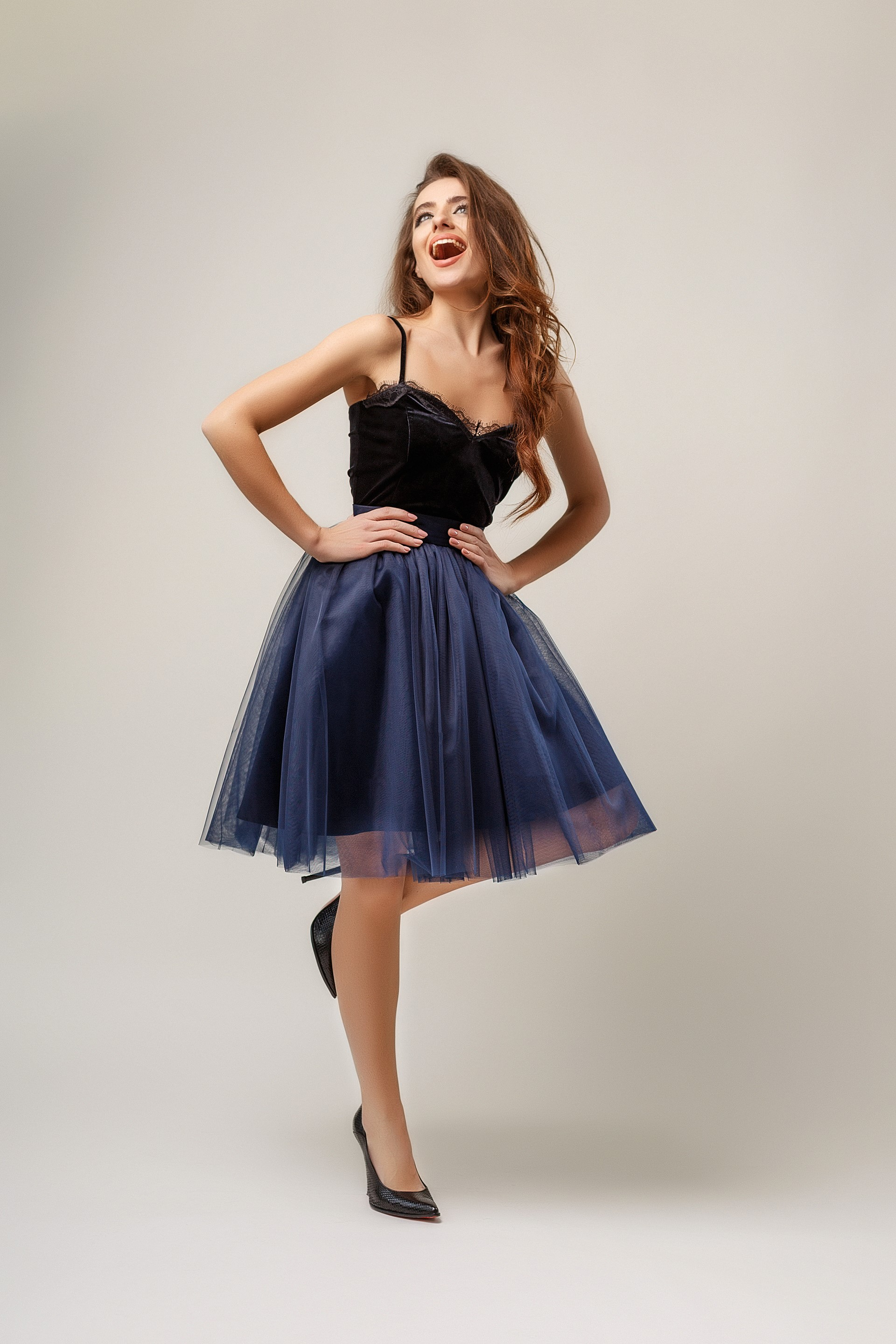 Пишна спідничка з євросітки - купити коктейльні сукні та вечірні ... 83ab37bc1dc6c