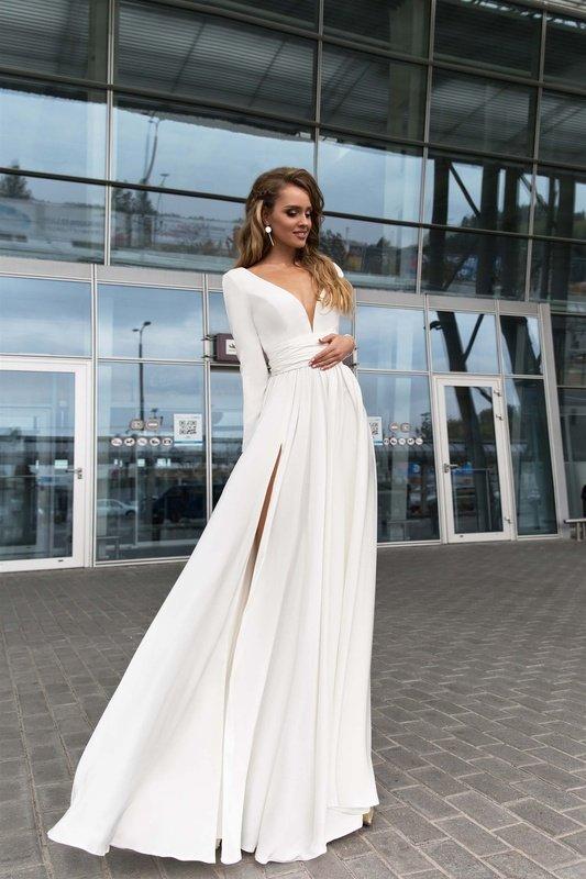 Вечірня сукня Selin White
