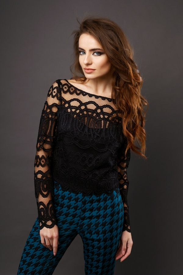 lace top Evening dresses and cocktail dresses, catalog Olya Mak